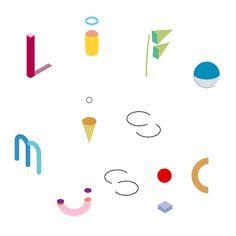 "Cute geo GIF -SOUR ""Life is Music"" Phenakistoscope music video"