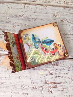 caja con mini álbum (mini álbum)