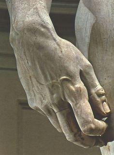 Michelangelo's Hand of David.