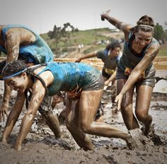 LAKE IRVINE MUD RUN.  Looks kinda like the warrior dash! It was so fun! Can't wait to do it again!