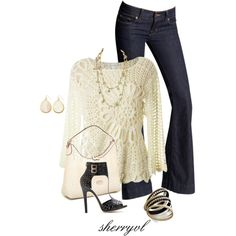 """Crochet"" by sherryvl on Polyvore"