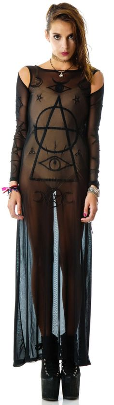 #UNIF Wiccan #Dress #gift  it'd be so much more cute if it had black under.