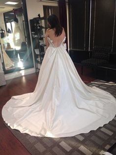 The back of my dream dress