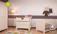 Chambre Bebe Childwood Country Old White