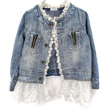 online shopping for Artfasion Kids/Girls Jean Jacket Toddler Spring Denim Jacket Lace Outwear Cowboy Overcoat from top store. See new offer for Artfasion Kids/Girls Jean Jacket Toddler Spring Denim Jacket Lace Outwear Cowboy Overcoat Girls Denim Jacket, Jean Jacket For Girls, Girls Jeans, Artisanats Denim, Denim Coat, Denim Fabric, Denim Style, Lace Jeans, Denim And Lace