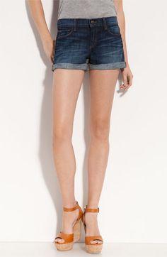 Joe's Cuffed Denim Shorts (Stephanie Wash) available at Nordstrom $98