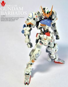 HG 1/144 Gundam Barbatos ver.Dree - Customized Build Modeled by Adreee Adrean