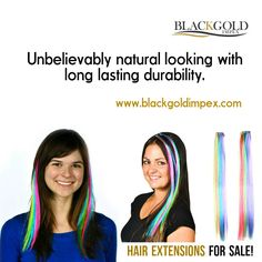 How stunning are these hair extensions. Unbelievably natural looking with long lasting durability.