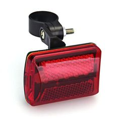 837e8c8369 Flashing Red 5 LED Light 7 Modes Rear Lamp for Bike Bicycle CP  ( 331743300506) - Sporting Goods   Cycling   Bicycle Accessories   Lights    Reflectors for ...
