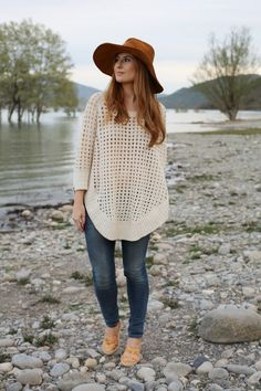 Look: Jeans & Maxi sweater - ATRENDYLIFE - Trendtation
