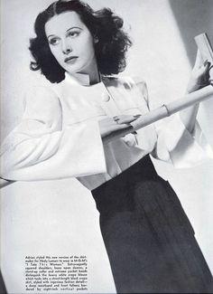 I love Hedy Lamarr!
