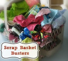 30+ Scrap Fabric Projects - The Sewing Loft