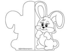 Easter Activities, Preschool Crafts, Easter Crafts, Easter Coloring Pages, Coloring Books, Make Your Own Card, Scrapbooking, Easter Printables, Shaped Cards