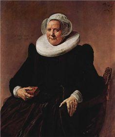 Portrait of a woman - Frans Hals