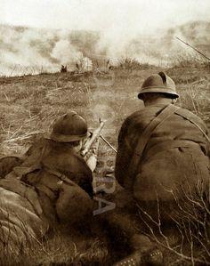 WW1. French soldiers. © Fotolibra (FOT1263415)