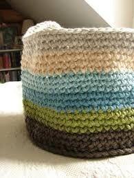Resultado de imagen para AA baskets crochet