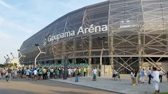 Yesterday opening the new Groupama Arena in Budapest.