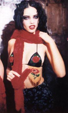 Adriana Lima by Ellen von Unwerth, 1999