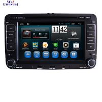 Newest Android 4.4 Car DVD Player for VW CUPRA(2005-10) for Volkswagen Bora New/ for Magotan/ for sagitar 7 inch 1024*600