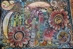 Artjournal sivu: My Result (mixemedia) by Anu-Riikka L.