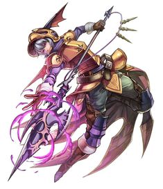 View an image titled 'Onion Dragoon Art' in our Final Fantasy Dimensions II art gallery featuring official character designs, concept art, and promo pictures. Game Character Design, Character Design References, Character Concept, Character Art, Concept Art, Stranger Of Sword City, Final Fantasy Tactics, Final Fantasy Artwork, Fantasy Heroes