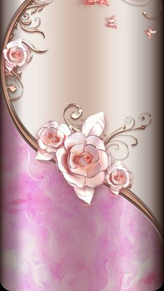 69 ideas for wall paper design iphone pink Bling Wallpaper, Rose Gold Wallpaper, Luxury Wallpaper, Flower Wallpaper, Designer Wallpaper, Cellphone Wallpaper, Iphone Wallpaper, Paper Ipad, Wall Paper Phone