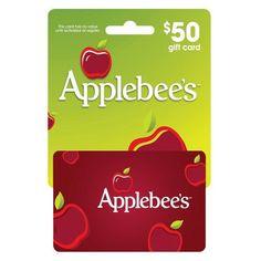 Applebees $50 Gift Card