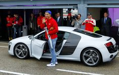 El nuevo Audi de CR7