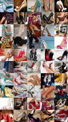 **Updated** 50 Gorgeous Louboutins -- Follow my Pinterest board,If The  Shoe Fitsfor all of the latest in women's shoetrends. You might also  like20 Ultra Trendy Designer Shoes On The Street&50 Ultra Trendy  Designer Shoes