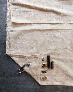 Drop-Cloth Decor