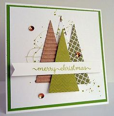Recently another iDEE & Post fell on the doormat with a nice Christmas gift Christmas Card Crafts, Homemade Christmas Cards, Printable Christmas Cards, Christmas Cards To Make, Christmas Greeting Cards, Homemade Cards, Handmade Christmas, Holiday Cards, Simple Christmas
