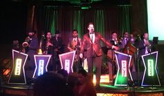 """On Thursday, December the """"little big band"""" Phat Cat Swinger played to a packed dance floor at the Edison in Downtown Los Angeles. Little Big Band, Swing Dancing, Downtown Los Angeles, Plays, Dance, Cat, Concert, Disney, House"""