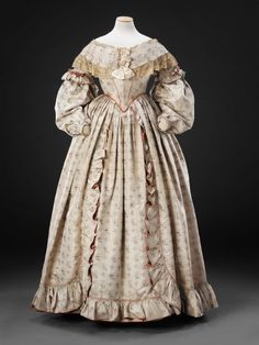 Historical Dress - Late 1830's John Bright Collection