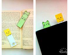 Милые закладки для книг.