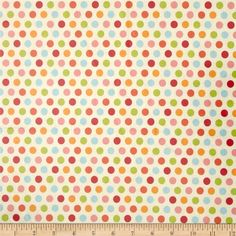 Riley Blake Just Dreamy 2 Laminate Dots Cream from @fabricdotcom  Designed by My Mind's Eye for Riley Blake, this laminated cotton print fabric meets the key provisions of the CPSIA (Comprehensive Consumer Product Safety Improvement Act of 2008). This fabric does not contain any lead or thyolate. Soft, protective film is laminated to the face of the fabric, its softness makes this cloth extremely pliable for fashion, and the durability combined with easy-care convenience (cleans up easily ...