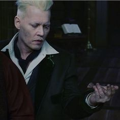 Gellert Grindelwald, Crimes Of Grindelwald, Johnny Depp Movies, Wolfstar, Fantastic Beasts And Where, Harry Potter Fan Art, Johnny Was, Photo Reference, Slytherin