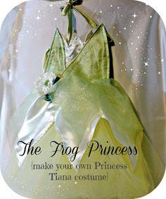 The Frog Princess costume tutorial from Sweet Benanna & Sam