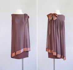 60s dress / 1960s chiffon party dress / Winsome by VacationVintage, $110.00