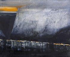 Ørnulf Opdahl: Bygd, 80 x 100 cm Norwegian Landscape Art, Landscape Paintings, Beautiful Landscape Photography, Nordic Art, Canadian Art, Land Scape, Art Photography, Fine Art, Abstract Art