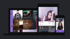 Twinkll website by basovdesign