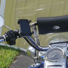 X-Grip Adaptor Mount for Harley Brake/Clutch (Chrome)