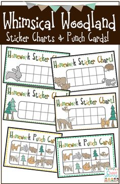 To go with my Woodland Classroom Theme!! ;)