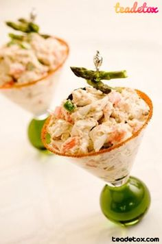 Crab Salad for dinner...