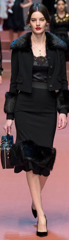 Dolce & Gabbana Outono/Inverno 2016 #MFW