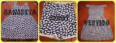 La Porta Magica - Ve a la moda cosiendo tu propia ropa. Blog de costura facil.: 3 Metros de tela...Camisa..Short...Vestido...y algo mas...