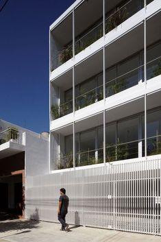 Edificio Once / Adamo Faiden,© Cristobal Palma