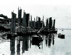 한강 옛모습 (뚝섬, 1959년)