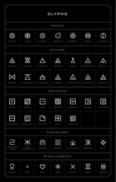 glyphs - Over 30,000 Tattoo Ideas and Pictures Enjoy! http://www.tattooideascentral.com/glyphs-2/