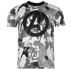 Mens Marvel Avengers T Shirt