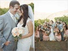 Tres Chic Affairs featured on Wedding Chicks by John Schnack Photography Orfila Vineyards, Winery Wedding, Vintage, Lace, DIY